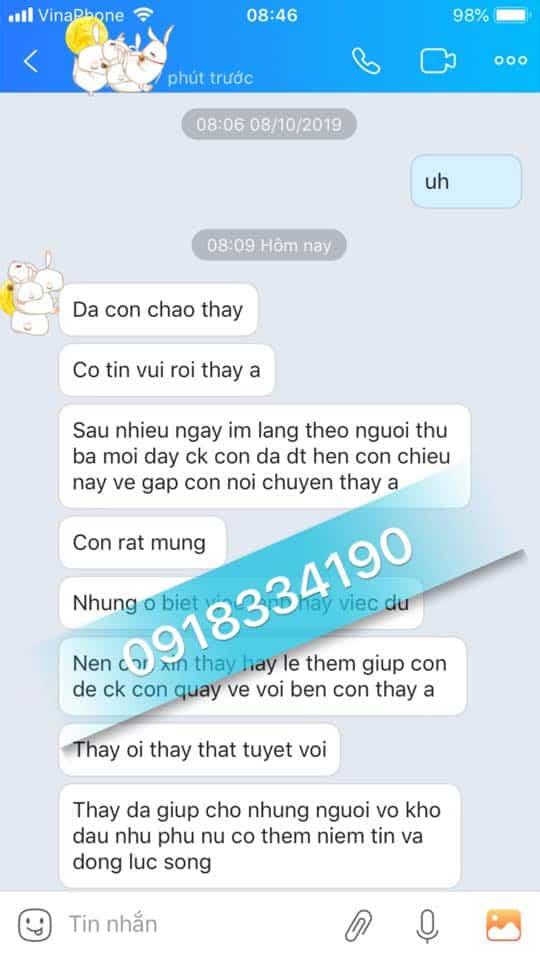 Thầy làm bùa yêu giỏi nhất Việt Nam